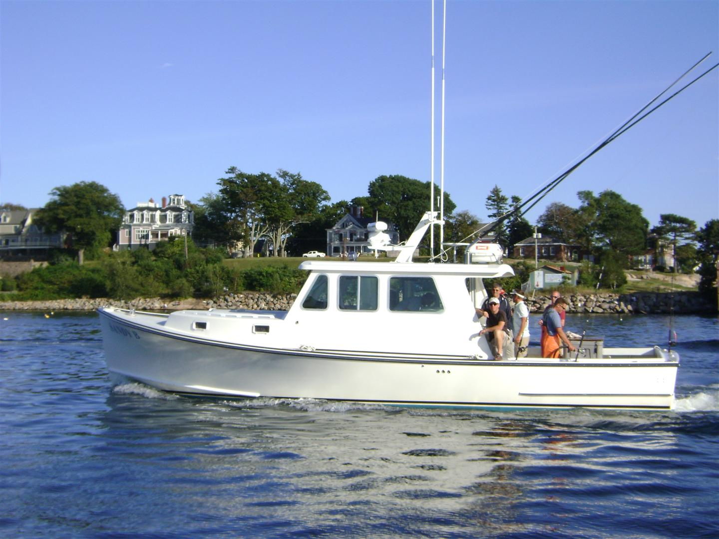 Fishing charters for Maine deep sea fishing charters